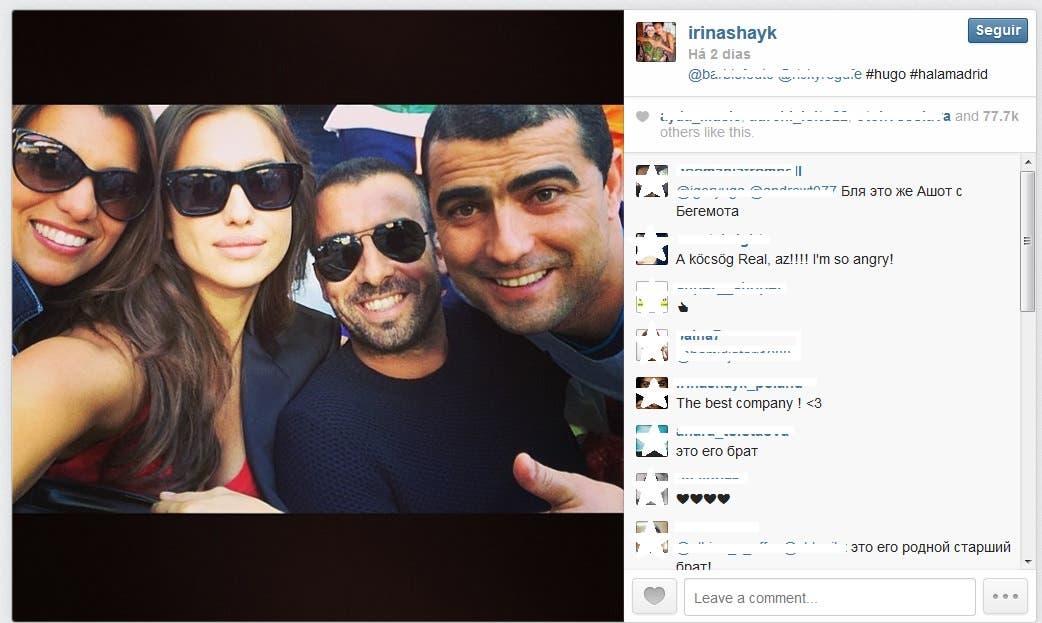 IRINA #halamadrid