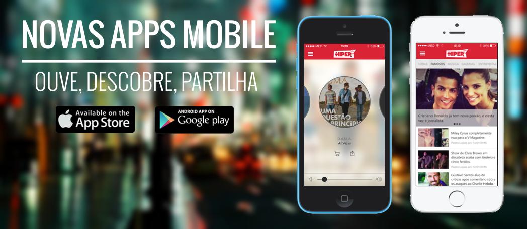 novas apps mobile promo website