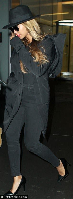 Beyoncé Praia gravida 2