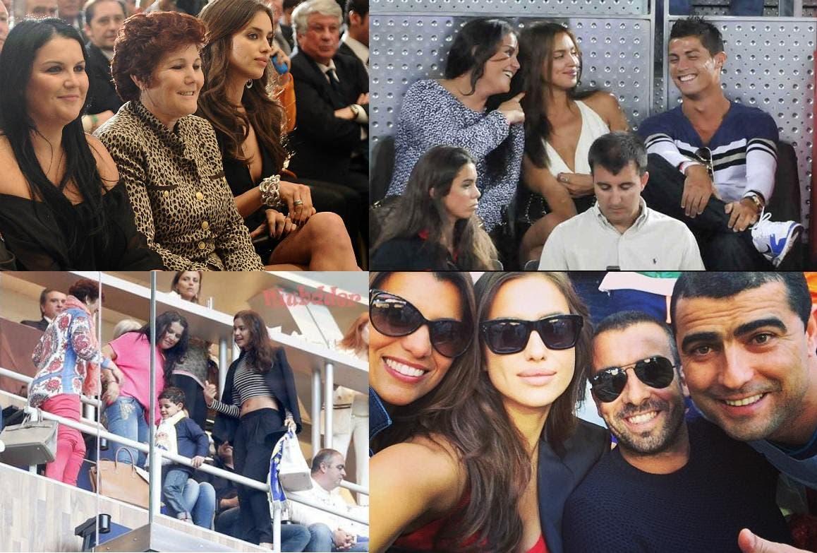 Irina e a Familia Aveiro