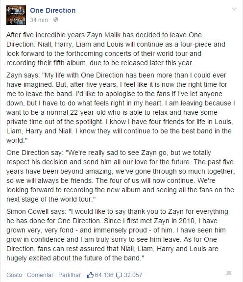 one direction fb