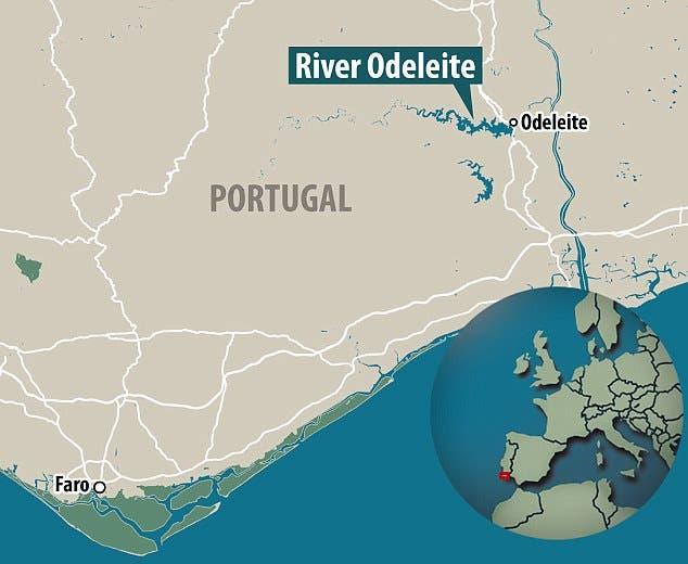 RIBEIRA ODELEITE MAPA