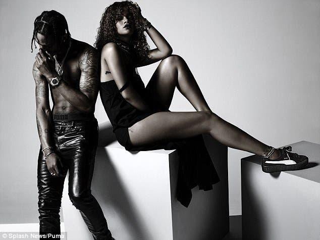 Rihanna e Travis PUMA