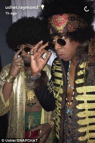 Usher e Jay Z
