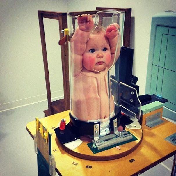 Tirar um raio-x pode ser divertido... :)