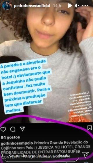 2021 02 15 9 Big Brother: Pedro Apoia Jéssica Fernandes E Manda Recado À Produção